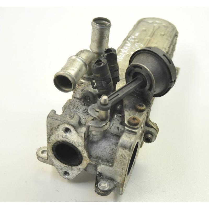 refroidisseur des gaz d u0026 39  u00e9chappement avec clapet    vanne egr pour 2l tdi ref 03g131513j