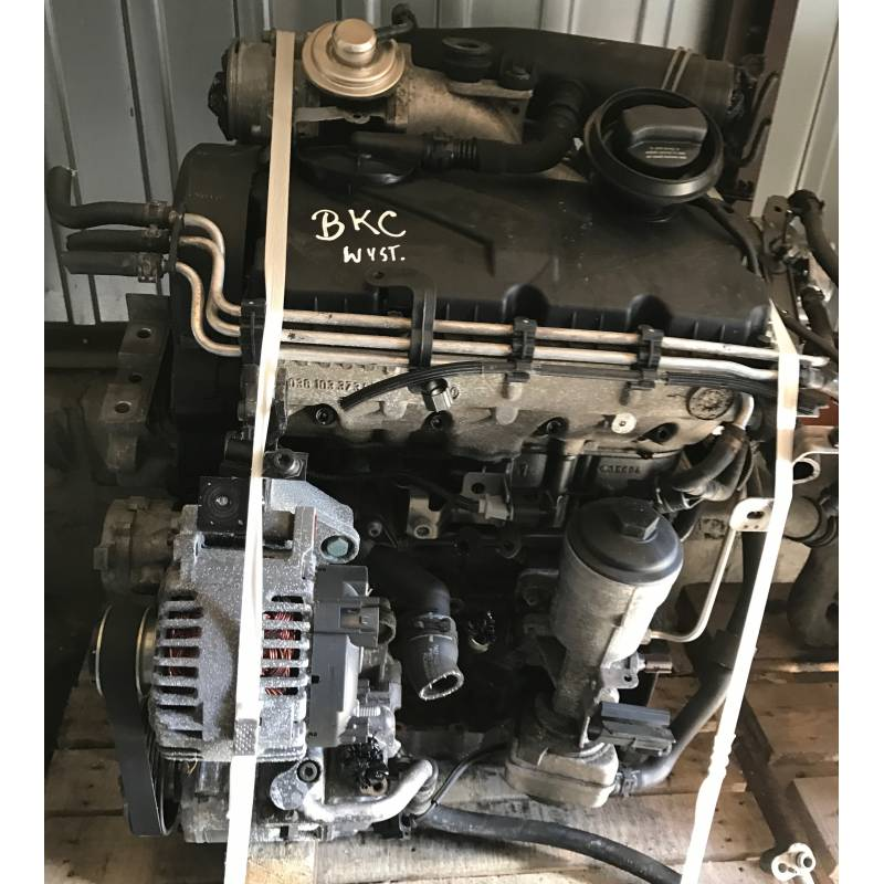 moteur 1l9 tdi 105 cv de type bkc pour vw  audi  seat  skoda