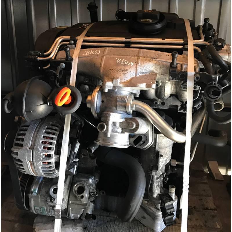 moteur 2l tdi 140 cv 16 soupapes type bkd