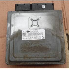 Calculador motor para VW Passat 2L TDI 140 cv ref 03G906018 / 5WP45500 AC / 5WP45500AC