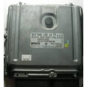 Calculateur moteur Mercedes W639 VITO 2.2 CDI ref A6461501077 / 0281014187