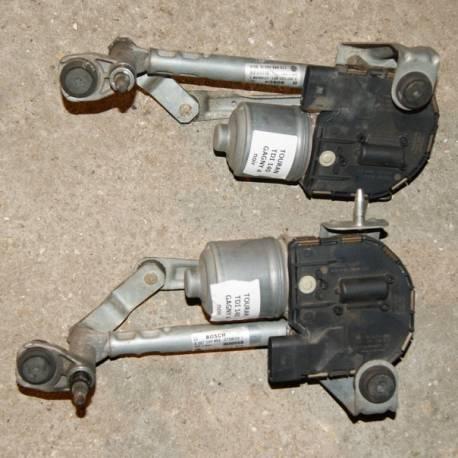 Lot de 2 moteurs d'essuie-glace avant pour VW Touran ref 1T0998021 / 1T0998021A