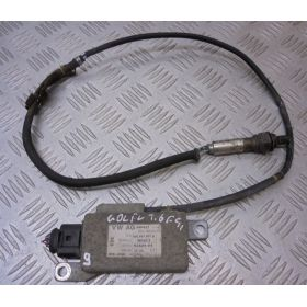 Calculateur avec capteur nox pour controleur des gaz d'echappement ref 03C907807D
