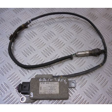 Calculateur avec capteur nox pour controleur des gaz d'echappement ref 03C907807A 03C907807C 03C907807D