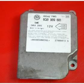 Calculateur d'airbag ref 6Q0909601