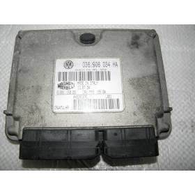 Calculateur moteur pour Seat Ibiza / Cordoba 1L4 16v mpi ref 036906034HA / Ref Magneti Marelli 61601.150.05
