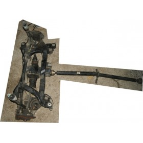 Complete axles sold for Audi A4 B6