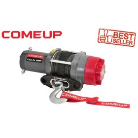 Electric winch with synthetic cable for Quad / VTT, 12V, 3000lbs (1361 kg)