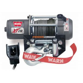 Electric winch WARN XT15 WINCH 680 KG - 3000lbs (SYNTHETIC CABLE)