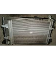 Radiateur refroidisseur d'eau moteur et condenseur clim polo 9N