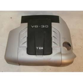 Cache-moteur pour tubulure d'admission Audi Q7 ref 4L0103925 / 4L0103925B sans sigle
