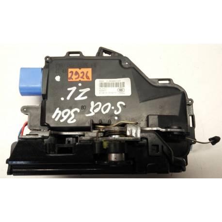 Serrure de porte / Module de centralisation arrière conducteur ref 7L0839015 / 7L0839015D