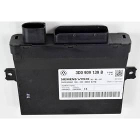 Calculateur pour commande radio du verrouillage centralisé et kessy VW Touareg Phaeton / Porsche Cayenne ref 3D0909139B 5WK48825