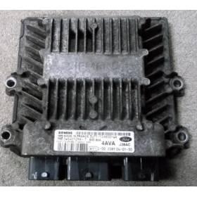 MOTOR UNIDAD DE CONTROL ECU FORD FIESTA MK6 1.4 TDCI 3U71-12A650-WA