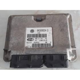 Calculateur moteur pour Seat Ibiza / Cordoba 1.4 MPI ref 6K0906034D IAW4LV.0A