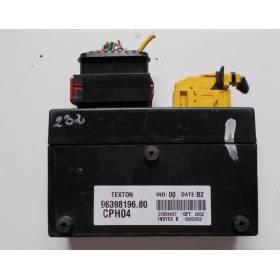 Boitier module CITROEN / PEUGEOT 96398196.80