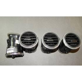 Grille de ventilation / Diffuseur d'air frais vendu à l'unité Audi A3 8P 8P0820901C
