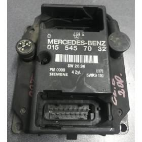MOTOR UNIDAD DE CONTROL ECU PMS Mercedes VITO C E 124 202 0155457032 Siemens 5WK9110