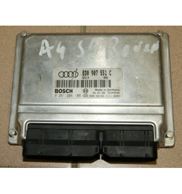 Engine control for Audi A4 S4 AGB ref 8D0907551C / 8D0907551BX / ref Bosch 0261206108 / 0 261 206 108
