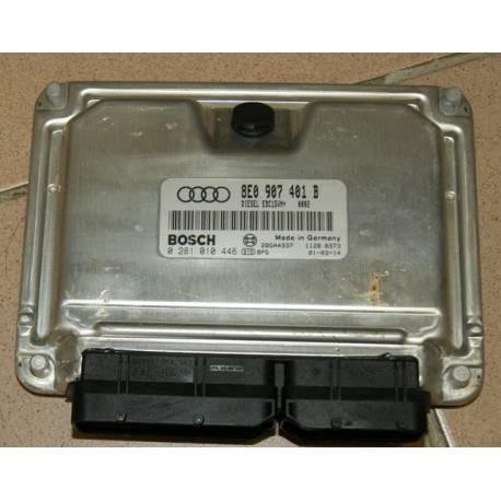 Calculateur moteur 8E0 907 401 B