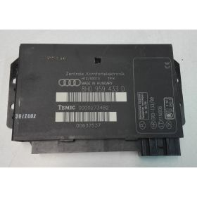 Boitier confort / Commande centralisée Audi A4 Cab ref 8H0959433D 8H0959433F 8H0959433K 8H0959433H 8H0959433M