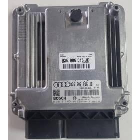 Calculateur moteur Audi A4 B7 2.0 TDI 03G906016JD 0281012654 03G997057BX