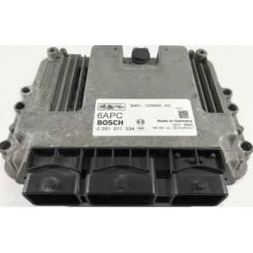 Calculateur moteur Mazda ref 1.6 3M61-12A650-AC 0281011534 6APC