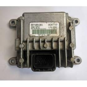 Engine control / unit ecu motor Opel / ISUZU 1.7 DTI ref 8971891361 16267710