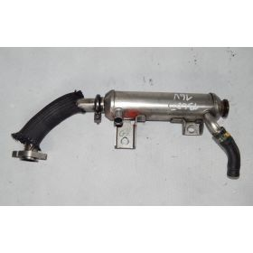 Cooler for recirculation exhaust gas SAAB 93 II Opel Signum Vectra C Zafira B Astra H Fiat Croma II Alfa Romeo 1.9 JTD 55182590