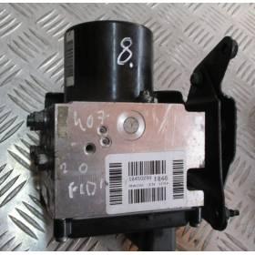 Bloc ABS PEUGEOT 407 ref 9660067280 TRW 15710602 15710502-A Siemens S118676001-L