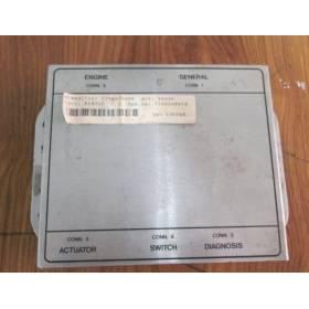 Calculateur Renault 7700424898 7700108810
