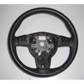 Black leather steering-wheel Seat Leon 2 Altea Toledo 5P0419091C 5P0419091T + airbag 1P0880201A 1P0880201C 1P0880201P 1P0880201R