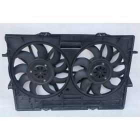 Ventilateur du radiateur avec calculateur Audi ref 4H0121003L 4H0959455T 4H0959455AD 4H0959455AA 4H0959455AE