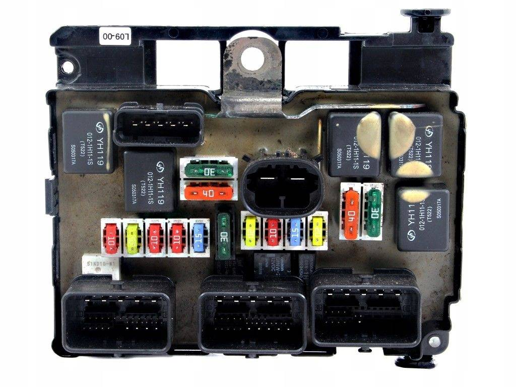 Fuse box module bsm peugeot 407 04-10, sale auto spare part on  pieces-okaz.com