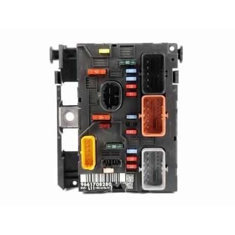 fuse box module bsm peugeot 207 1 4 1 6 2 0 hdi sale auto spare rh pieces okaz com