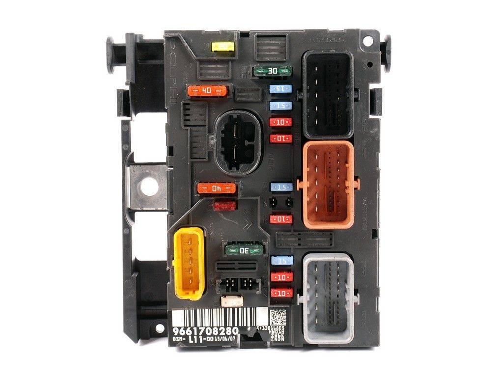Fuse box module bsm peugeot 207 1.4 1.6 2.0 hdi, sale auto spare part on  pieces-okaz.com