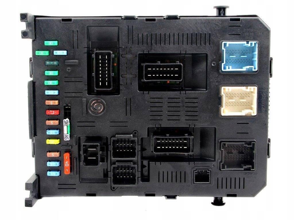 Fuse box module bsi citroen c4 1.6 16v thp vti hdi, sale auto spare part on  pieces-okaz.com