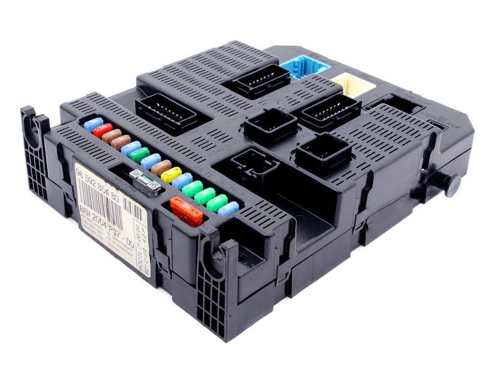 Fuse box module bsi peugeot 207 1.4 1.6 8v 16v hdi, sale auto spare part on  pieces-okaz.com