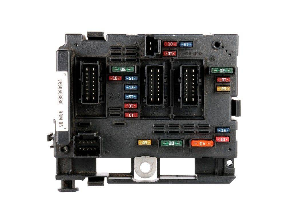 Fuse box module bsm citroen c3 c5 c8 xsara picasso, sale auto spare part on  pieces-okaz.com