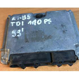 Engine control / unit ecu motor A4 B5 TDI 110 PS 99R 23710