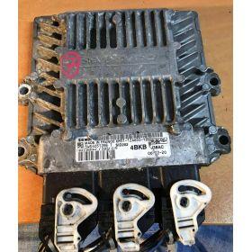 Engine control / unit ecu motor FORD FOCUS 1,8 SIEMENS 5WS40512B-T  6M51-12A650-YB