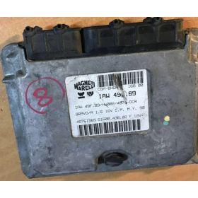 CALCULATEUR MOTEUR FIAT BRAVO 1,6 16V MAGNETI MARELLI IAW49F.B9/HW002/4974-DCR 46761565