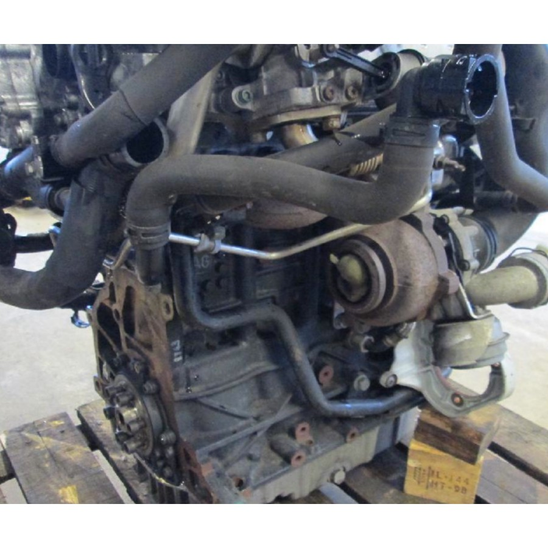 Motor Engine 2l Tdi 140 16 Type Bkd With Injection Pieces Okaz Com