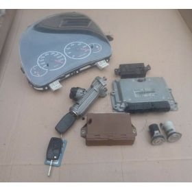 Full system Engine control / unit ecu motor CITROEN JUMPER 2.0 HDI 1332377080 Bosch 0281010345