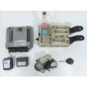 Full system Engine control / unit ecu motor TOYOTA COROLLA E15 1.4D4D 0281013413 89661-02E10 89741-12240 251300-1553 82730-12390