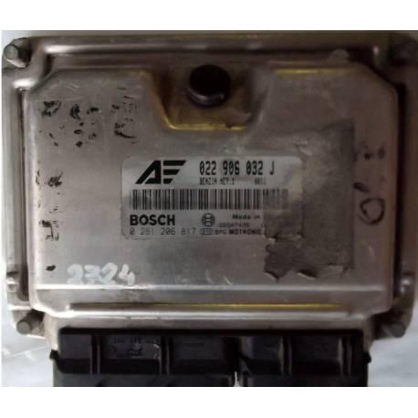 Calculateur injection moteur Sharan ref 022906032J-022997032EX