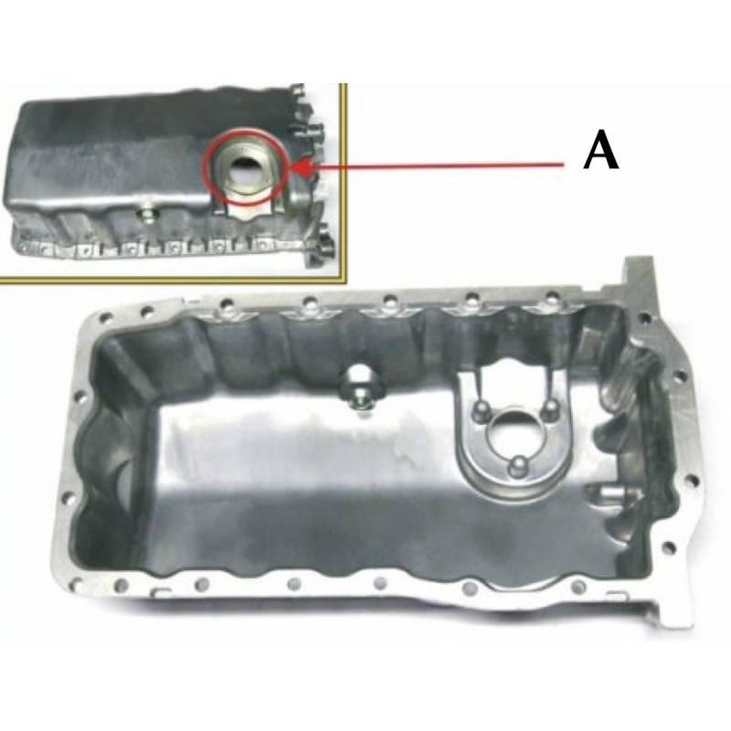 bac huile carter alu pour moteur avec emplacement sonde. Black Bedroom Furniture Sets. Home Design Ideas