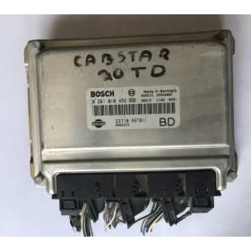 Calculateur moteur NISSAN CABSTAR 23710-69T01-BD Bosch 0281010452