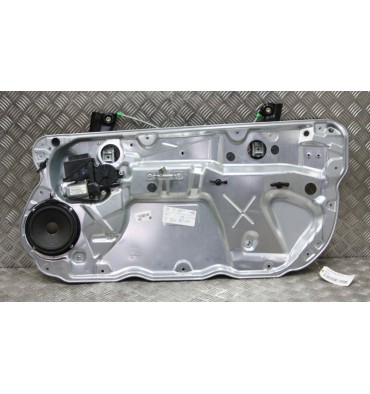 Mechanism of front windrow winder passenger side 3 doors for VW Polo 9N 6Q3437402H 6Q3837462