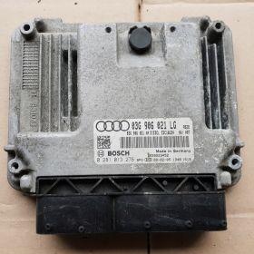 Engine control / unit ecu motor Audi A3 2L TDI 140 BKD 03G906021LG 03G906021AN Bosch 0281013276